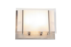 Brina 2-Light Wall Light - Brushed Nickel - 8