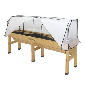 Planter with Greenhouse Cover - Medium