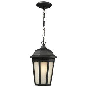 Luminaire suspendue extérieure Newport, noir