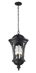 Doma Outdoor Suspended Light - Black