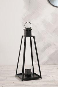 Grande lanterne de jardin Cordova, acier, noir