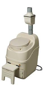 Toilette à compost mobile et autonome