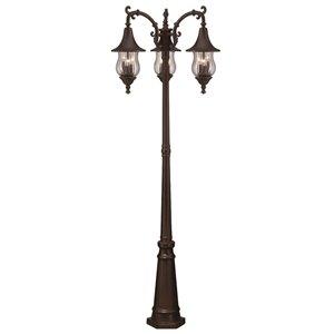 Lanterne extérieure Del Rio , 9 ampoules, aluminium, bronze
