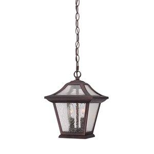 Lanterne Aiken, 2 ampoules, 12