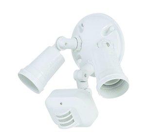 Lumière de sécurité à détection de mouvement, blanc
