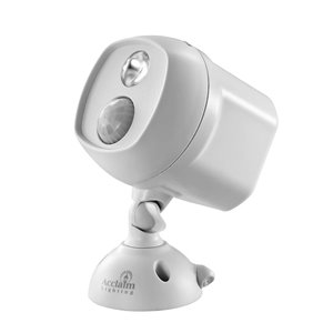 Battery Operated Motion Activated LED Single Spotlight
