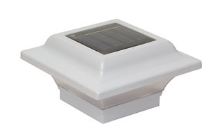 Capuchon de poteau solaire Imperial, aluminium, 2,5