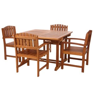 Dining Table and Chair Set - 5 Pieces