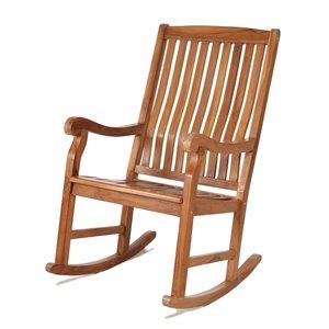 Teak Rocker Chair
