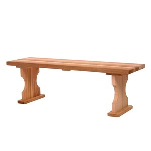 Backless Bench - 4 ft.