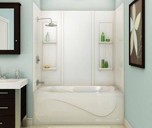 Elan 61 in. x 32 in. x 59 in. Acrylic Tub Wall Kit