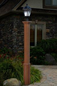 Trinity Composite Lamp Post