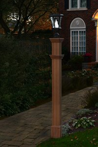 Charleston Composite Lamp Post