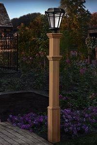 Burton Composite Lamp Post
