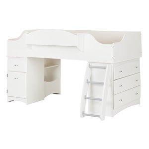 Imagine Loft Bed - Pure White