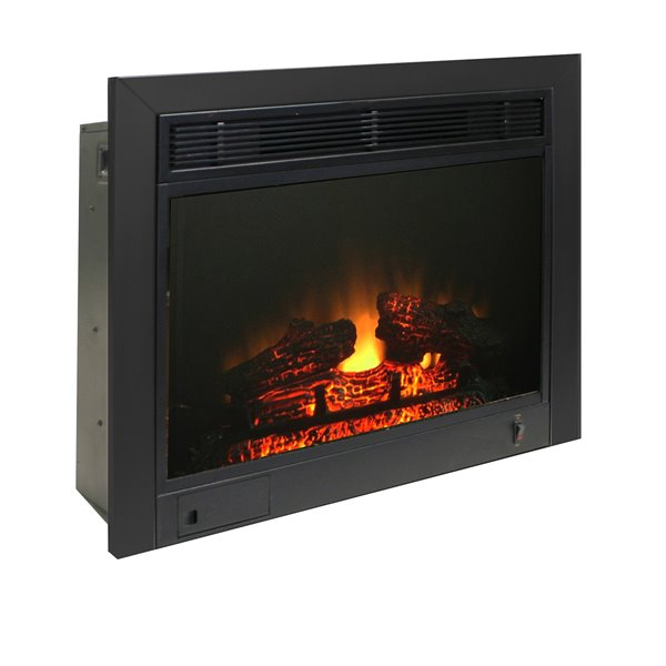 paramount 23 in electric fireplace insert ef 123 3bk rona rh rona ca dimplex 23 electric fireplace insert electric fireplace insert 23 inches