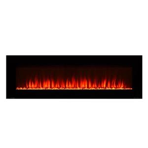 Paramount Premium Slim Wall Mount Fireplace 23-in x 72-in