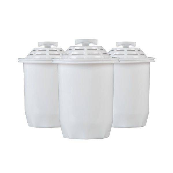Santevia Water Systems White Alkaline Water Pitcher Filter (3-Pack)