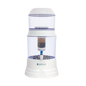 Santevia Water Systems Countertop Alkaline Gravity Water System