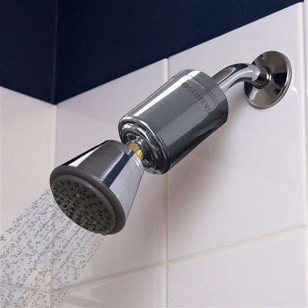 Santevia Shower Filter - Shower Head Model - Chrome
