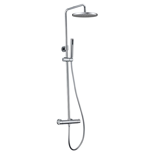 Jade Bath Pippa II Chrome Thermostatic Shower System