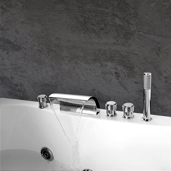 Robinet de baignoire Celeste, chrome
