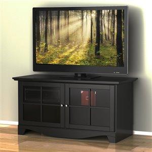 Pinnacle 49-in Black TV Stand