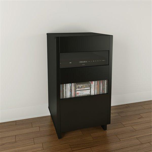 Cabinet audio Vision, 1 porte, noir