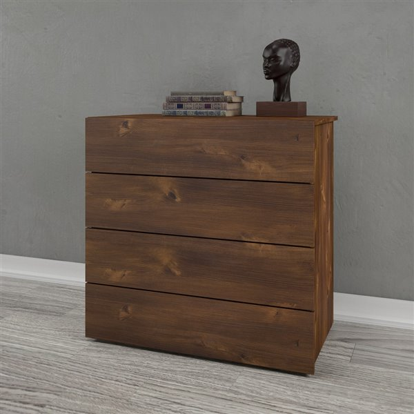 Nexera Truffle 4 Drawer Chest