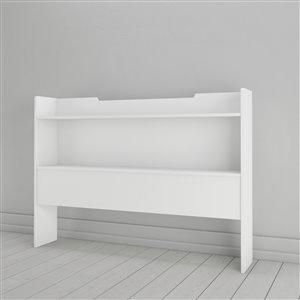 Nexera 40.00-In x 55.25-In Full Size White Storage Headboard