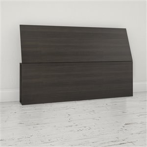 Nexera 38.50-In x 61-In Ebony Queen Size Headboard