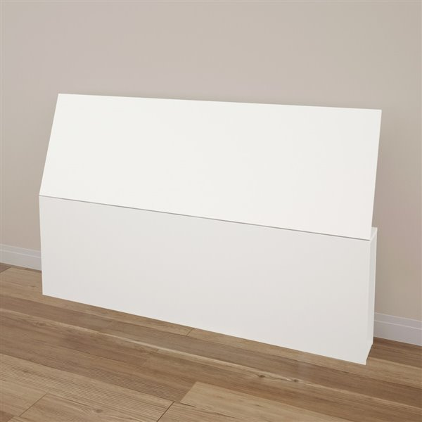 Nexera 38.50-In x 61-In White Queen Size Headboard