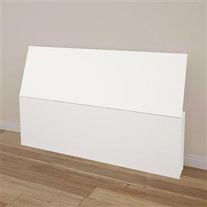Nexera 38.50-In x 61-In White Queen Size Headboard