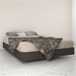 Nexera Ebony Platform Bed - Ebony - Queen