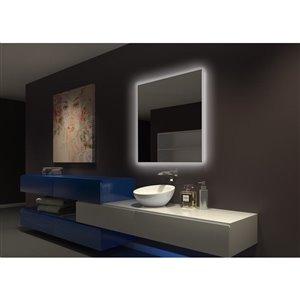 Paris Mirror Original 36-in x 36-in 3000K backlit Mirror