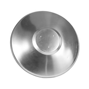 Paramount One-Piece Reflector 37.5-in Chrome