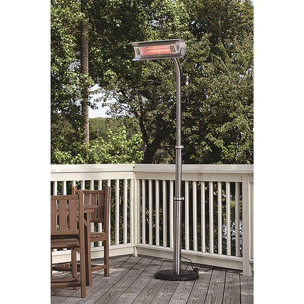 Paramount Outdoor Black Infrared Patio Heater