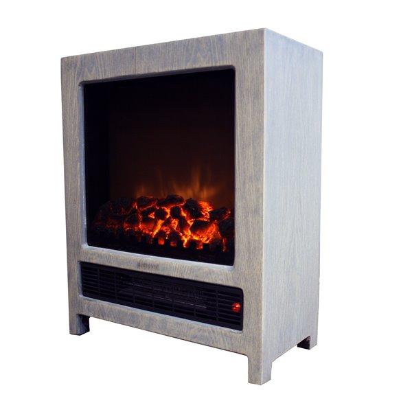 Aura Paramount Decorative Fireplace Style Heater Es 328 Gy Rona