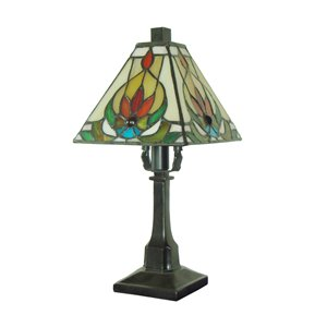 "Lampe de table Tiffany, 6"" x 12"""