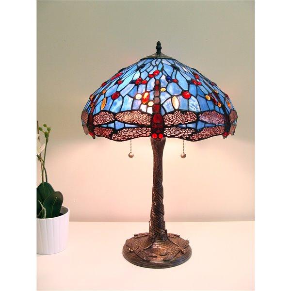 Fine Art Lighting Ltd. Tiffany 23-in 2-Light Table Lamp