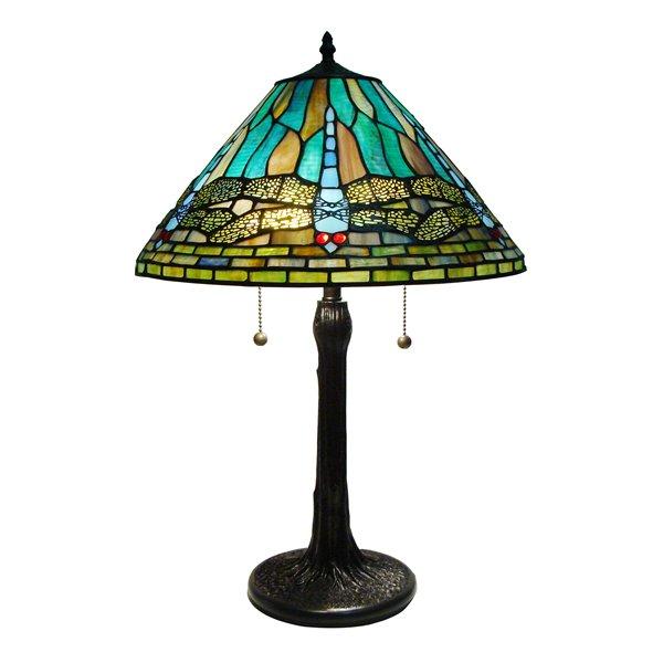 "Lampe de table Tiffany, 16"" x 24"""