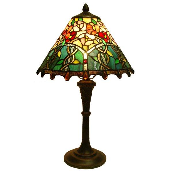 "Lampe de table Tiffany, 12"" x 20"""