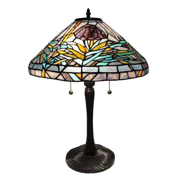 Fine Art Lighting Ltd. Tiffany 23-in Vintage Bronze 2-Light Table Lamp