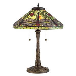 Fine Art Lighting Ltd. Tiffany 16-in x 24-in Table Lamp