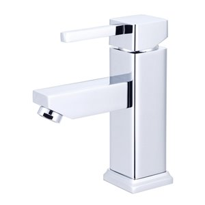 Spa Bathe Ikou Robo Polished Chrome Single Lever Handle Bathroom Faucet