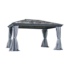 Gazebo Penguin 12'x16' All Season Gazebo in Grey