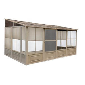 Florence Add-A-Room de Gazebo Penguin, 10 pi x 16 pi, sable