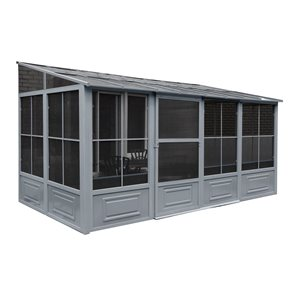 Gazebo Penguin 8'x16' All Season Add-a-Room in Grey