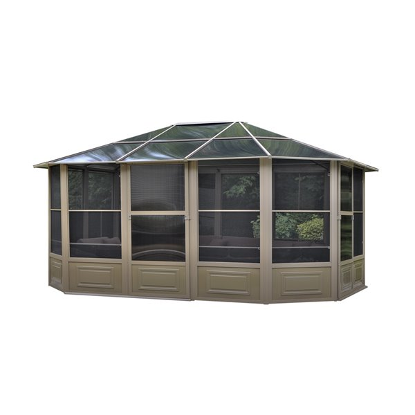 Gazebo Penguin 12-ft x 15-ft Sand Solarium Gazebo