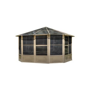 Gazebo Penguin 12-ft x 12-ft Sand Solarium Gazebo